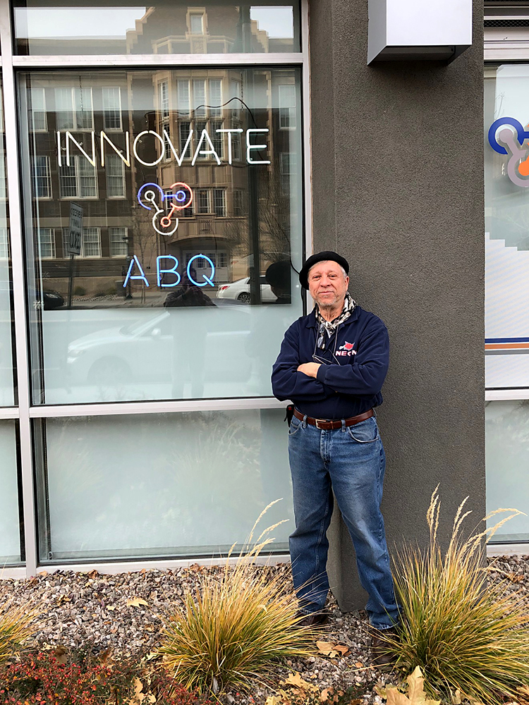 Robert Randazzo in front of InnovateABQ