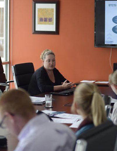 STC UNM Staff Meeting